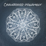 Chalkboard ornament Royalty Free Stock Images
