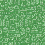 Chalkboard Pattern Stock Images