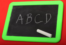chalkboard pisać Zdjęcie Royalty Free