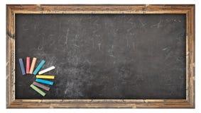 chalkboard projekt rysująca elementu ręki ilustraci szkoła Obraz Royalty Free