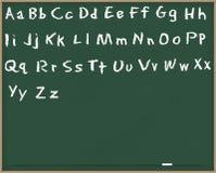 chalkboard s abc Стоковые Изображения RF