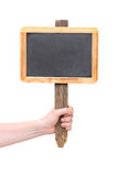 Chalkboard sign Royalty Free Stock Photography