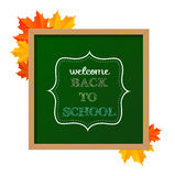 Chalkboard sign Stock Images