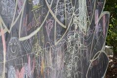 Chalkboard skrobaniny Obraz Royalty Free