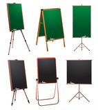 Chalkboard stand. Royalty Free Stock Photos