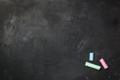 Chalkboard texture. royalty free stock images