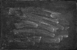 Chalkboard texture. Blank blackboard backgroud Royalty Free Stock Photography