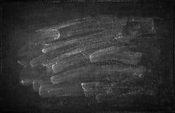 Chalkboard texture. Blank blackboard backgroud stock images