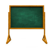 Chalkboard. On white background. 3D render Royalty Free Stock Image