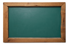 Chalkboard with wood frame Stock Photography