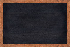Chalkboard wood frame with black surface. Chalkboard wood frame with black surface is great for the home office or school concepts, Good size allows for both Stock Photography