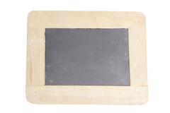 Chalkboard with wooden frame,isolated. Chalkboard with wooden frame isolate background stock images