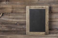 Chalkboard wooden texture Vintage blackboard royalty free stock photography