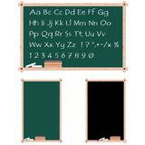 Chalkboards with copy space Royalty Free Stock Images