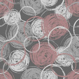 Chalked seamless pattern Royalty Free Stock Photography