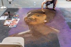 Chalkfest i Redmond royaltyfri fotografi