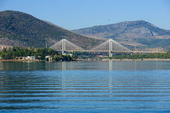 Chalkida Bridge Royalty Free Stock Images