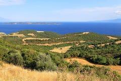 Chalkidiki Grécia imagens de stock