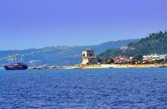 Chalkidiki resort village Greece Royalty Free Stock Photos
