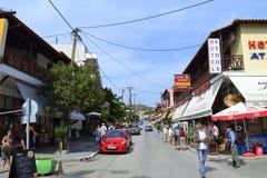 Chalkidiki resort village Greece Stock Images