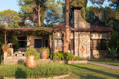Chalkidiki, restored country house Royalty Free Stock Images