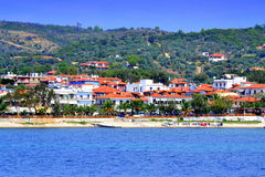 Chalkidiki summer resort Greece Royalty Free Stock Photography