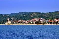 Chalkidiki village Greece Royalty Free Stock Photos