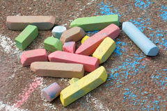 Chalks Stock Photo