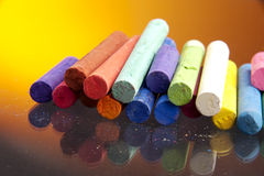 Chalks Royalty Free Stock Photography