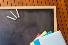 Chalks and diaries Stock Image