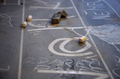 Chalks Stock Image