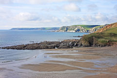 Challaborough Bay, Devon Royalty Free Stock Images