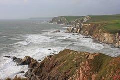 Challaborough Bay, Devon Stock Image