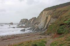 Challaborough fjärd, Devon Royaltyfria Bilder