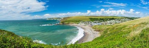 Challaborough zatoka Devon Anglia UK Zdjęcia Royalty Free
