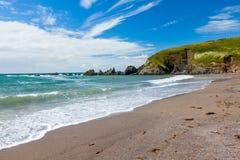 Challaborough zatoka Devon Anglia UK Obraz Royalty Free
