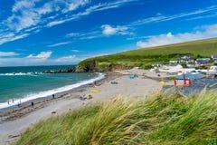 Challaborough zatoka Devon Anglia UK Zdjęcie Stock