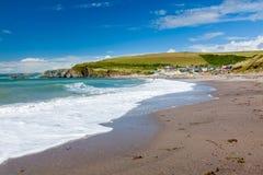 Challaborough zatoka Devon Anglia UK Obrazy Stock