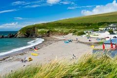 Challaborough zatoka Devon Anglia UK Zdjęcia Stock