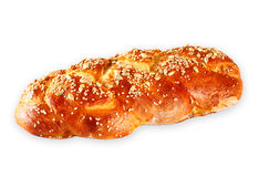 Challah bread isolated Stock Photo