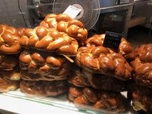 Challah Bread For Sale In A Store stock image