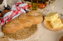 Challah for holidays Royalty Free Stock Photography