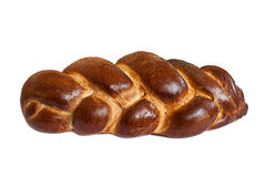 Challah isolated on a white background Stock Image