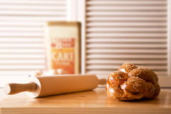 Challah loaf Stock Images