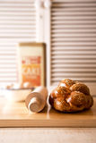 Challah loaf Royalty Free Stock Photo
