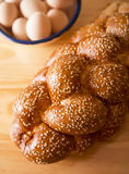 Challah loaf Royalty Free Stock Photography