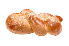 Challah loaf of fresh coarsely Stock Images