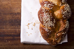 Challah loaf Royalty Free Stock Images