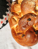 Challah for sabbath celebration Royalty Free Stock Photo