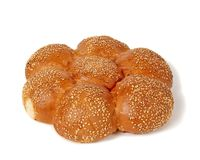 Challah with sesame Royalty Free Stock Photography